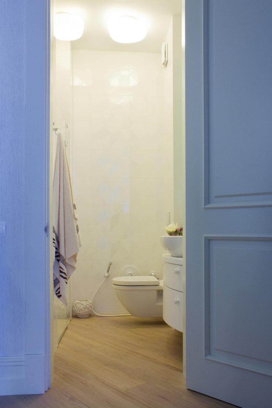 Фотография: Ванная в стиле Современный, Квартира, Дома и квартиры, Ар-деко – фото на InMyRoom.ru