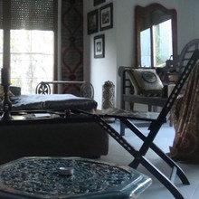 Фотография: Гостиная в стиле Кантри, Современный, Квартира, Дома и квартиры – фото на InMyRoom.ru
