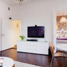 Фотография: Гостиная в стиле Скандинавский, Малогабаритная квартира, Квартира, Дома и квартиры, Минимализм – фото на InMyRoom.ru