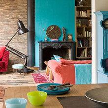Фотография: Гостиная в стиле Кантри, Квартира, Дома и квартиры, Париж – фото на InMyRoom.ru