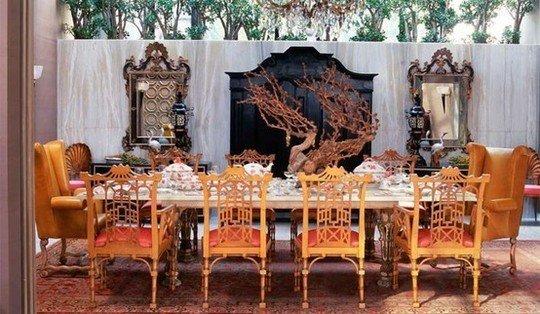 Фотография: Мебель и свет в стиле Восточный, Индустрия, Люди, Посуда, Ретро – фото на InMyRoom.ru