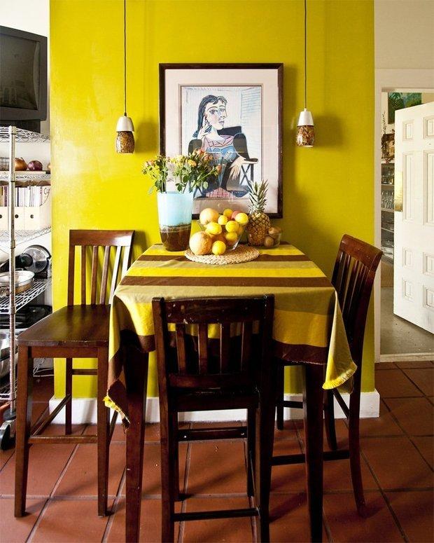 Фото из портфолио Солнечный желтый цвет в дизайне интерьера... – фотографии дизайна интерьеров на INMYROOM