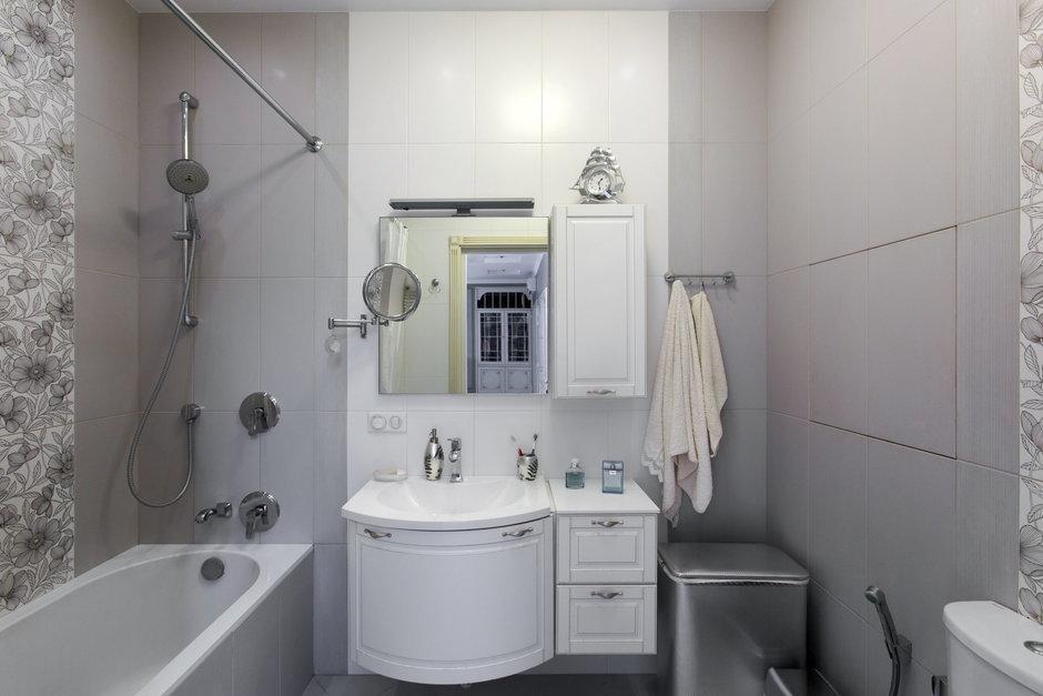 Фотография: Ванная в стиле Современный, Классический, Квартира, Дома и квартиры, Проект недели – фото на InMyRoom.ru