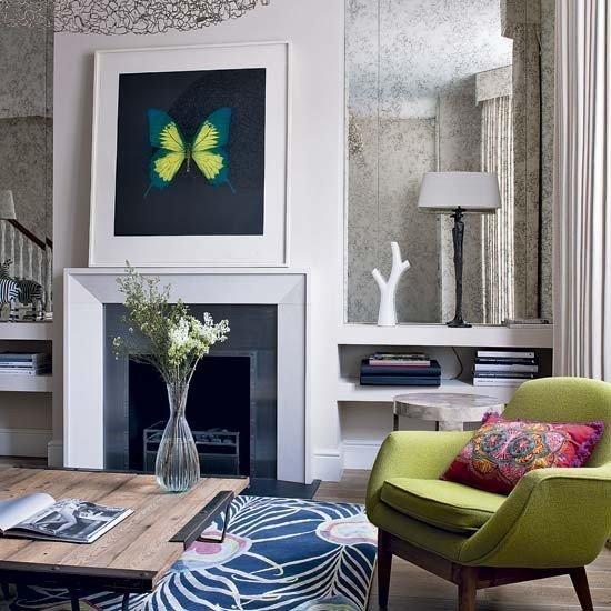 Фотография: Гостиная в стиле Прованс и Кантри, Декор интерьера, Мебель и свет, Советы – фото на InMyRoom.ru