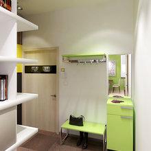 Фото из портфолио Однокомнатная квартира в Москве в жилом комплексе Семеновский. – фотографии дизайна интерьеров на INMYROOM