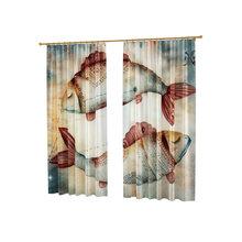 Оригинальные фотошторы от дизайнера: Под знаком Рыбы