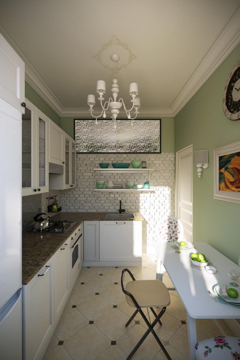Фотография: Кухня и столовая в стиле Прованс и Кантри, Квартира, Дома и квартиры, IKEA, Проект недели, Москва – фото на InMyRoom.ru
