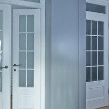 Фотография:  в стиле Современный, Скандинавский, Квартира, Цвет в интерьере, Дома и квартиры, Перепланировка, Серый – фото на InMyRoom.ru