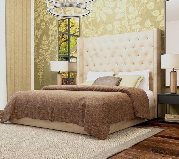 Фотография: Спальня в стиле Современный, Декор интерьера, Советы, Дарья Михайлова – фото на InMyRoom.ru