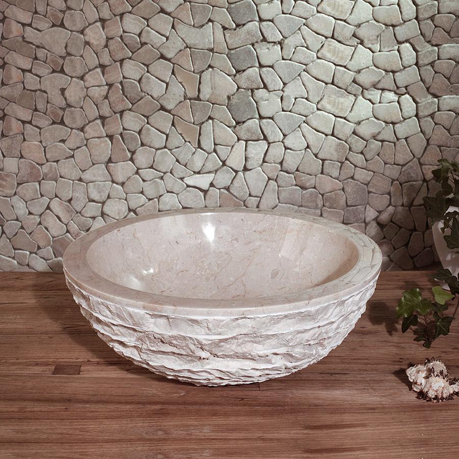 Купить Раковина Teak&Amp;Water Marmer White, inmyroom, Индонезия