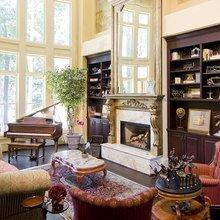 Фотография: Гостиная в стиле Классический, Современный, Декор интерьера, Квартира, Текстиль – фото на InMyRoom.ru