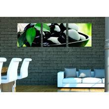 Триптих на холсте: Блюдо маслин