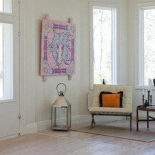 Фотография: Прихожая в стиле Скандинавский, Дом, Швеция, Цвет в интерьере, Дома и квартиры, Белый – фото на InMyRoom.ru