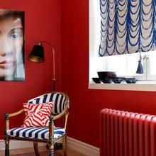 Фотография: Мебель и свет в стиле Кантри, Декор интерьера, DIY, Аксессуары, Декор, Советы, лайфхак, как спрятать провода – фото на InMyRoom.ru