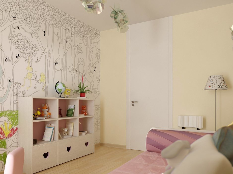 Фотография: Детская в стиле Современный, Квартира, Дома и квартиры, Проект недели, Пентхаус – фото на InMyRoom.ru