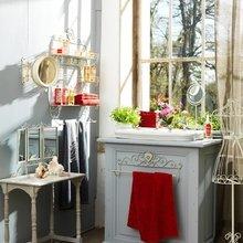 Фотография: Ванная в стиле Кантри, Интерьер комнат, Текстиль – фото на InMyRoom.ru
