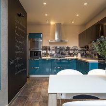 Фотография: Кухня и столовая в стиле Лофт, Квартира, Проект недели – фото на InMyRoom.ru