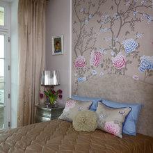 Фотография: Спальня в стиле Кантри, Классический, Эклектика, Квартира, Проект недели, Москва, Марина Поклонцева, Монолитный дом, 4 и больше, Более 90 метров – фото на InMyRoom.ru