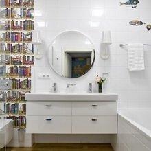 Фото из портфолио Санузел в современном стиле 1 – фотографии дизайна интерьеров на InMyRoom.ru