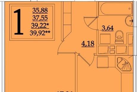 Помогите сделать отдельной комнатой спальню