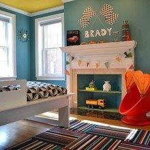 Фотография: Детская в стиле Современный, Декор интерьера, Декор дома, Камин – фото на InMyRoom.ru