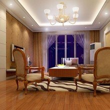 Фотография: Гостиная в стиле Классический, Современный, Интерьер комнат, Мебель и свет, Подсветка, Торшер – фото на InMyRoom.ru