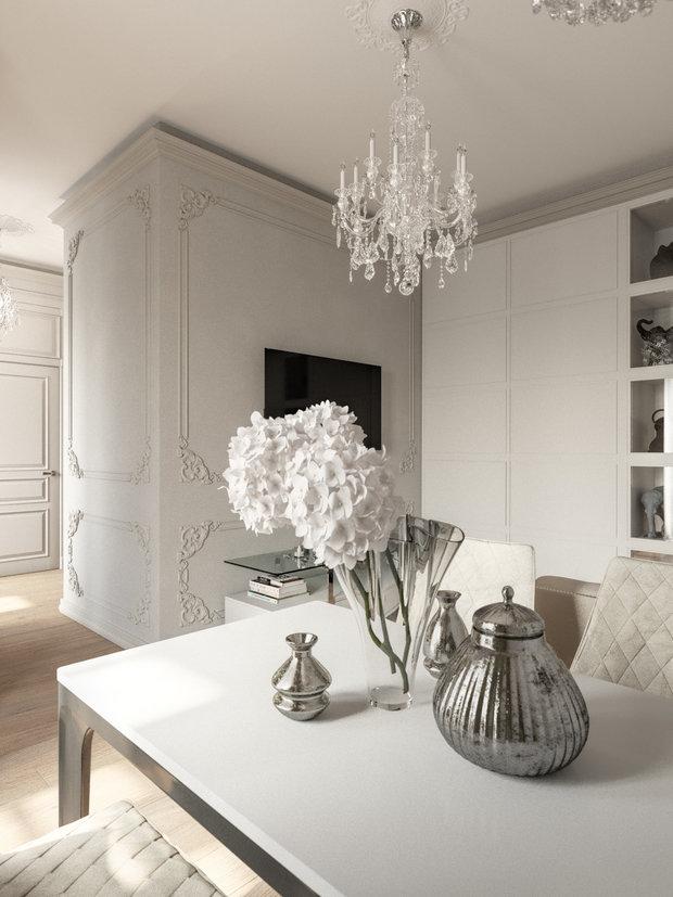 Фото из портфолио Квартира на Красносельской – фотографии дизайна интерьеров на INMYROOM