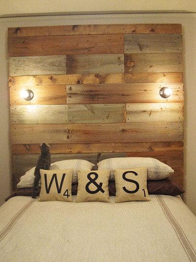 Фотография: Спальня в стиле , Декор интерьера, DIY, Кровать – фото на InMyRoom.ru
