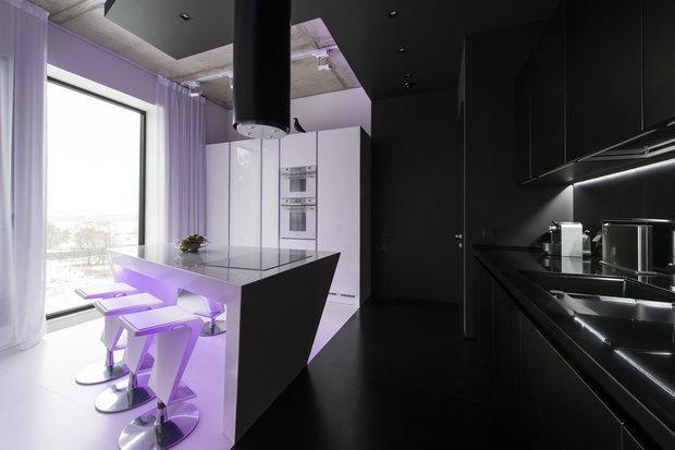 Дизайн интерьера внутри частного дома с фото