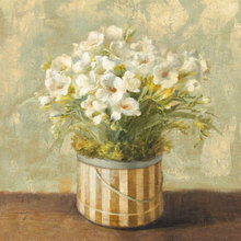 Картина (репродукция, постер): Flower blooming in a pot No. 2 - Данху Най
