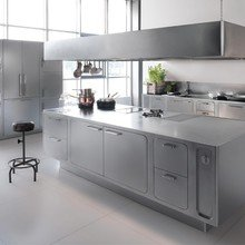 Фото из портфолио Профессиональная кухня из нержавеющей стали – фотографии дизайна интерьеров на InMyRoom.ru