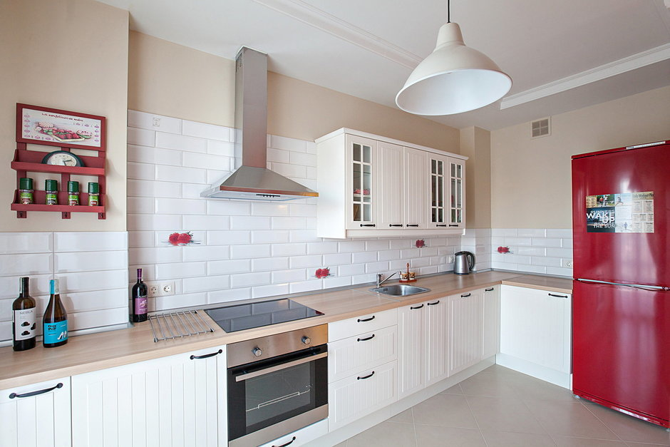 Фотография: Кухня и столовая в стиле Лофт, Квартира, Дома и квартиры – фото на InMyRoom.ru