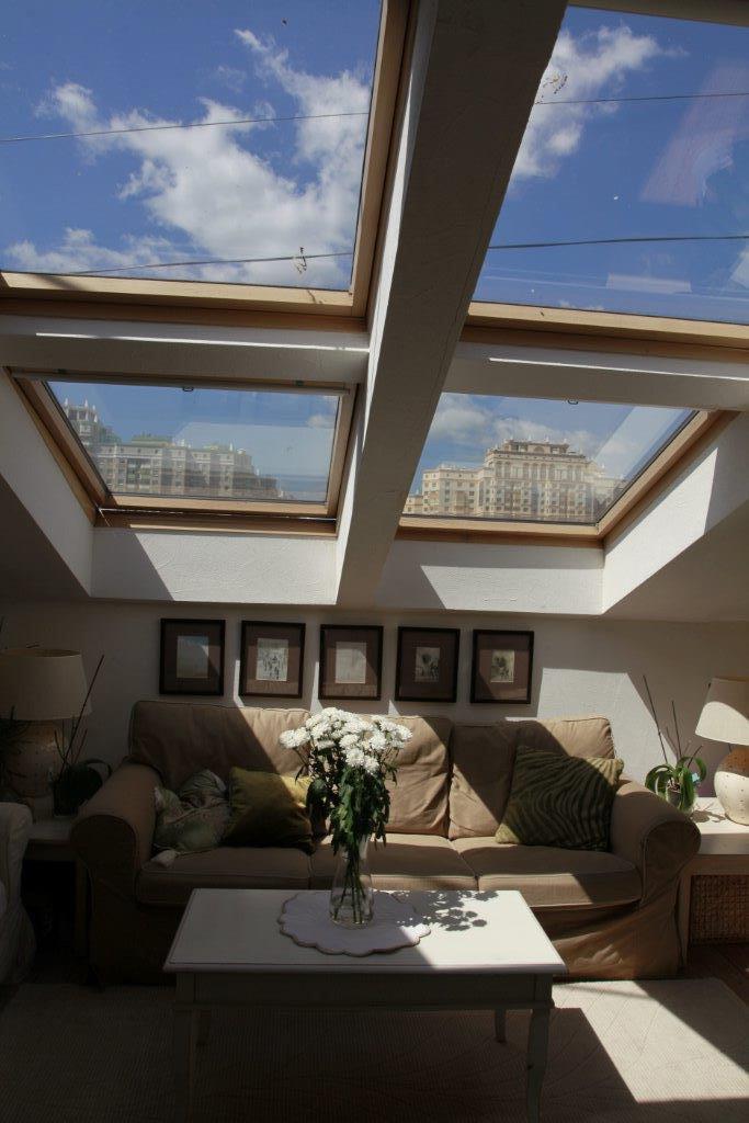 Фотография: Гостиная в стиле Современный, Декор интерьера, Квартира, Дома и квартиры, Чердак, Мансарда – фото на InMyRoom.ru