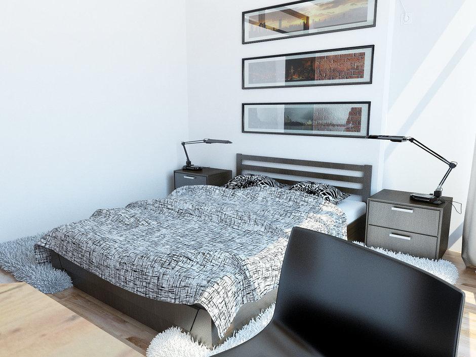 Фотография: Спальня в стиле Скандинавский, Современный, Декор интерьера, Квартира, Globo, Massive, Дома и квартиры, IKEA, Проект недели, Ideal Lux – фото на InMyRoom.ru