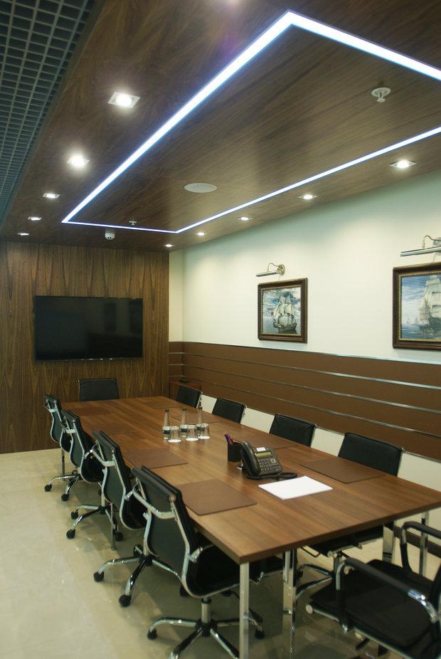 Фото из портфолио Офис компании Интерэкко  – фотографии дизайна интерьеров на INMYROOM