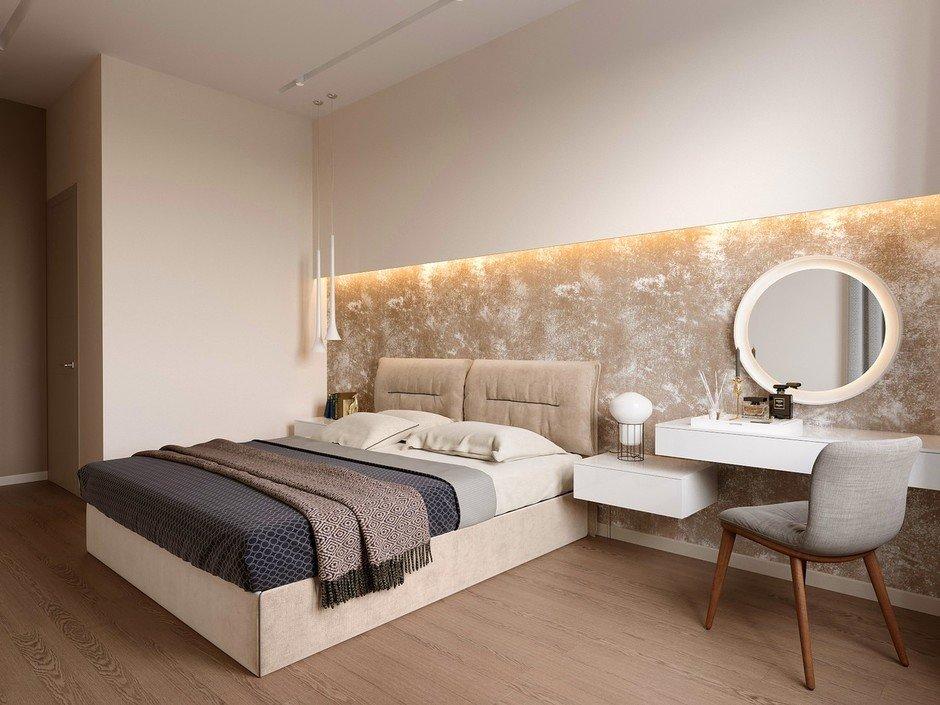 Фотография: Спальня в стиле Современный, Miele, Проект недели, 2 комнаты – фото на InMyRoom.ru