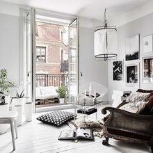Фото из портфолио Ярко-белый и серый цвета в интерьере – фотографии дизайна интерьеров на INMYROOM