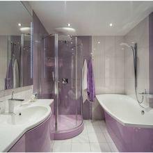 Фотография: Ванная в стиле Современный, Квартира, Дома и квартиры, Роспись – фото на InMyRoom.ru
