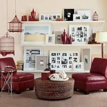 Фотография: Гостиная в стиле , Декор интерьера, Дом, Декор дома, Праздник – фото на InMyRoom.ru