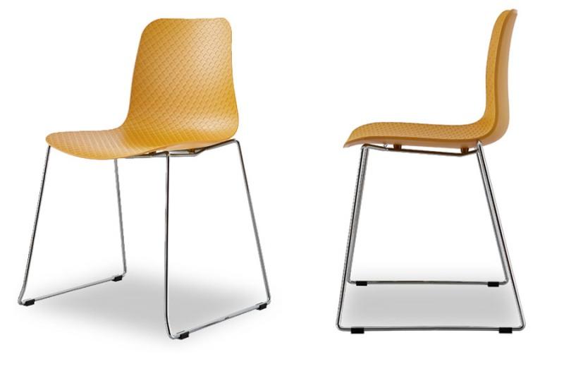 Купить Набор из четырех стульев Net на металлических ножках, inmyroom, Китай