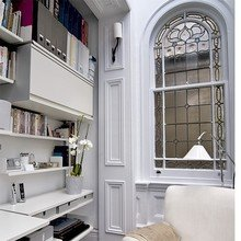Фотография: Кабинет в стиле Кантри, Интерьер комнат, Системы хранения – фото на InMyRoom.ru