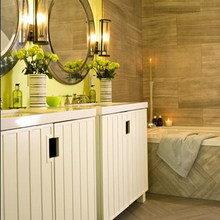 Фотография: Ванная в стиле Восточный, Эко, Декор интерьера, Дизайн интерьера, Цвет в интерьере – фото на InMyRoom.ru