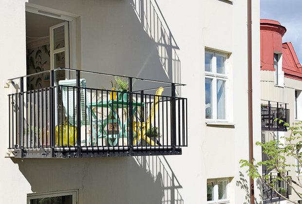 Фотография: Архитектура в стиле Скандинавский, Современный, Малогабаритная квартира, Квартира, Швеция, Мебель и свет, Дома и квартиры, Белый – фото на INMYROOM