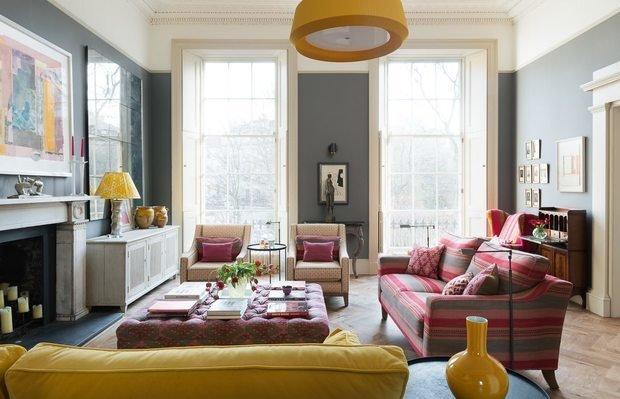Фотография: Гостиная в стиле Прованс и Кантри, Декор интерьера, Квартира, Англия – фото на InMyRoom.ru