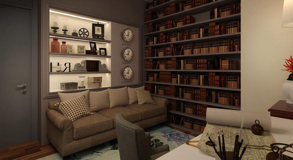 Фотография: Декор в стиле , Квартира, Дома и квартиры, Проект недели, Переделка – фото на InMyRoom.ru