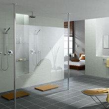 Фотография: Ванная в стиле Скандинавский, Современный, Хай-тек – фото на InMyRoom.ru