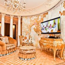 Фотография: Кухня и столовая в стиле Классический, Современный, Квартира, Дома и квартиры, Роспись – фото на InMyRoom.ru