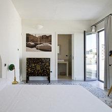 Фотография: Спальня в стиле Современный, Дома и квартиры, Городские места, Отель, Бассейн – фото на InMyRoom.ru