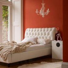 Фотография: Спальня в стиле Современный, Эклектика, Декор интерьера, Декор дома, Цвет в интерьере – фото на InMyRoom.ru