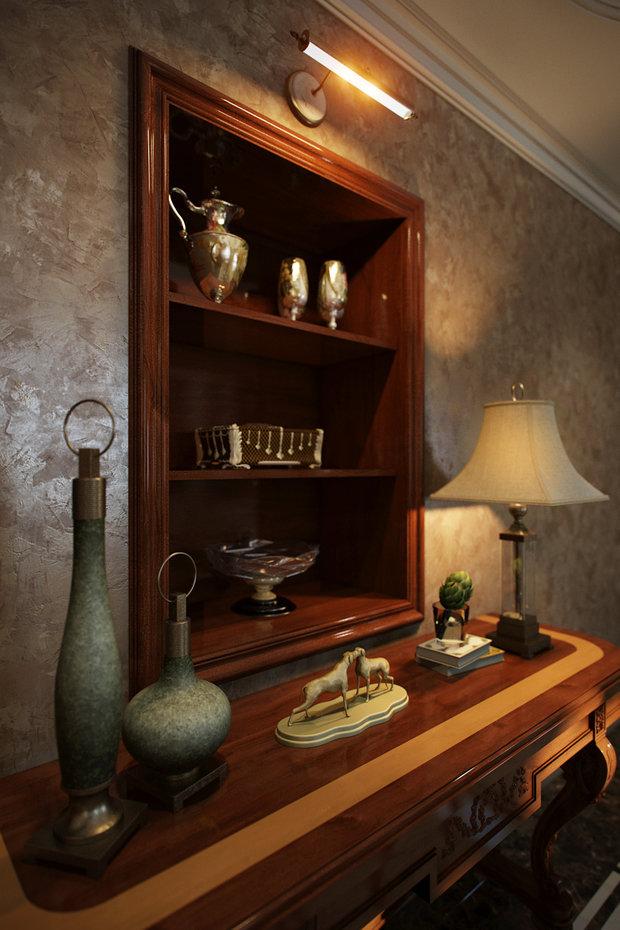 Фото из портфолио Классика семейных традиций – фотографии дизайна интерьеров на INMYROOM